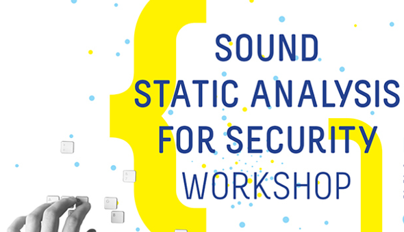 Sound Static Analysis for Security workshop