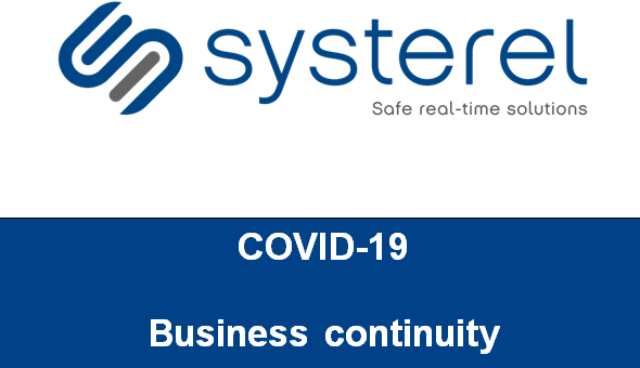 COVID-19 : business continuity