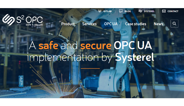 A dedicated website for S2OPC