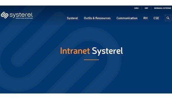 New intranet
