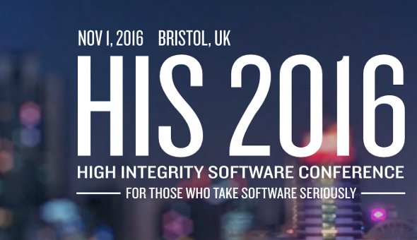 High Integrity Software 2016
