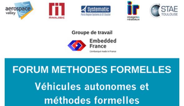 Véhicules autonomes et méthodes formelles