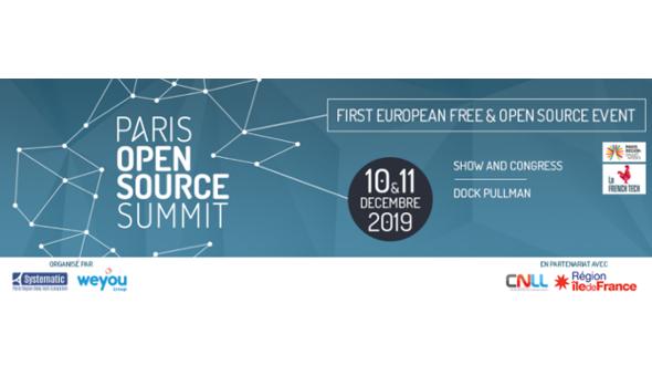 Paris Open Source Summit 2019