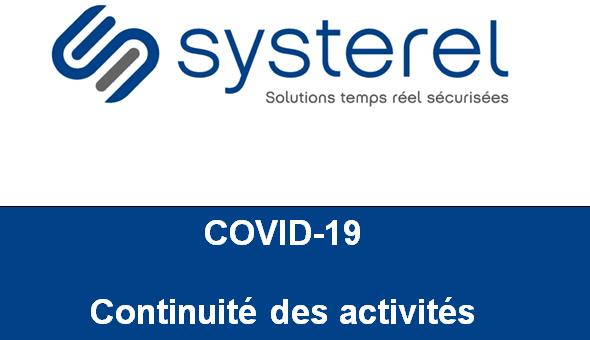 COVID-19 : continuité des activités